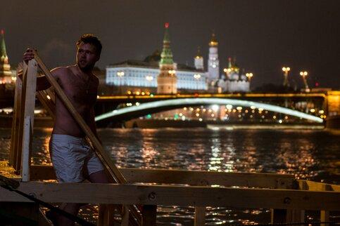 Сильных морозов в российской столице наКрещение не предполагается