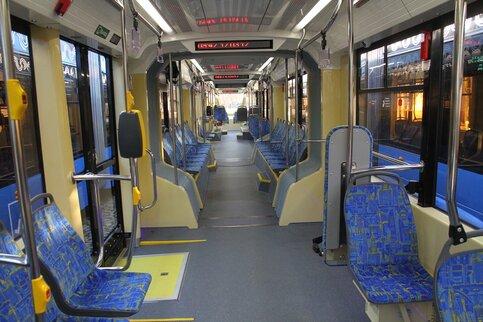 4 новых трамвая «Витязь-М» вышли намаршрут «Новоконная площадь— Нагатино»