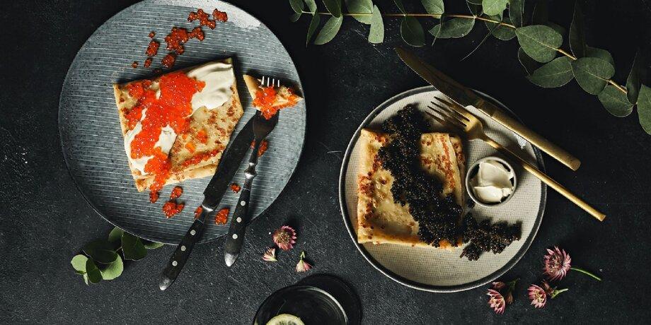 Масленица в ресторанах: карамель, фисташки, икра