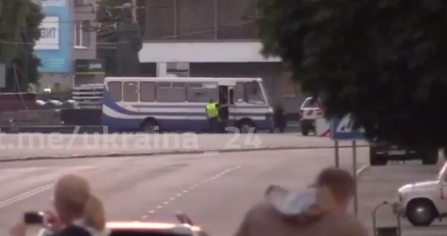 Захвативший заложников в Луцке задержан