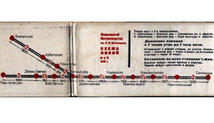 Схема 1935 г. Фото: metro.ru