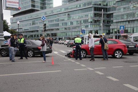 Четверть столичных водителей внынешнем году оформили ДТП поЕвропротоколу