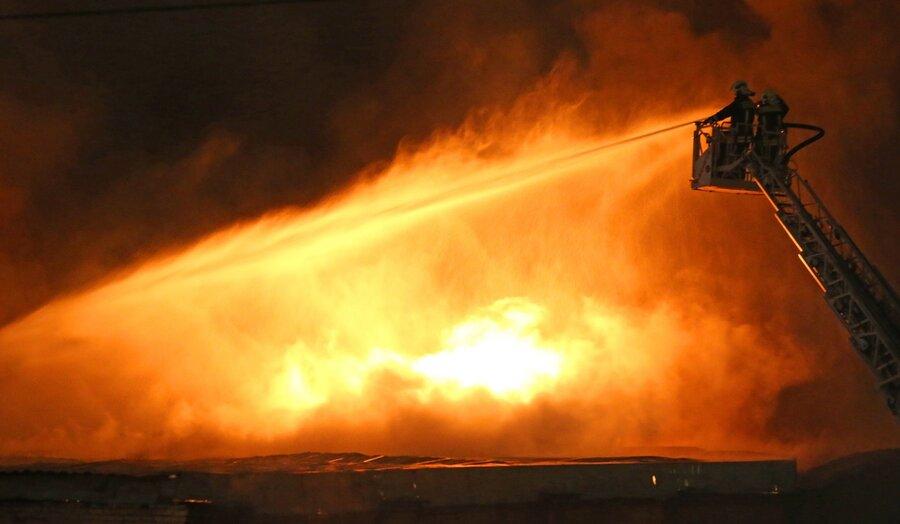 Тела 8-ми спасателей отыскали наместе пожара намосковском складе