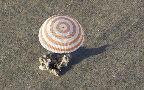 Военная авиацияРФ вКазахстане обеспечит посадку экипажа «СоюзМС»