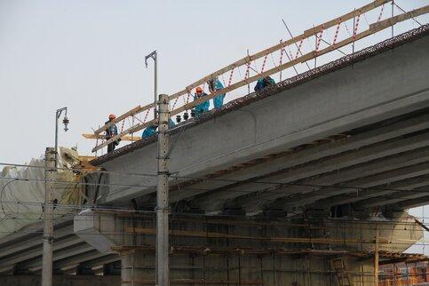 Дмитровский путепровод ожидает полная реконструкция