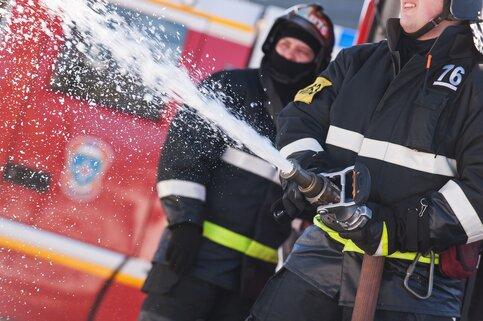 Пожар в личном доме потушили насеверо-западе столицы