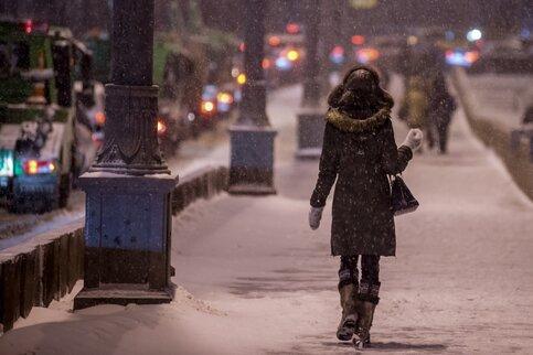 Вконце рабочей недели в российской столице предполагается небольшой снег идо