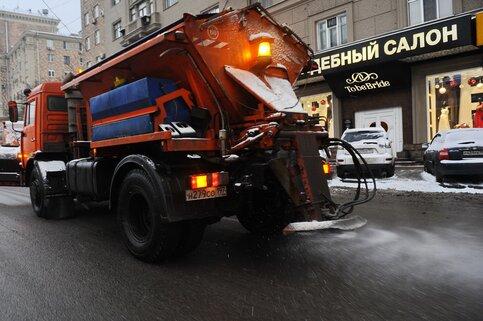 Вповышенную готовность приведены коммунальные службы столицы из-за ледяного дождя