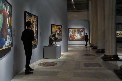 Выставка Пикассо иШагала проходит в столицеРФ