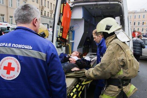 СКнеисключает, что взрыв вметро Петербурга совершил смертник