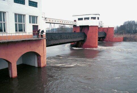 В российской столице из-за сброса воды сРублевской плотины подтоплены набережные
