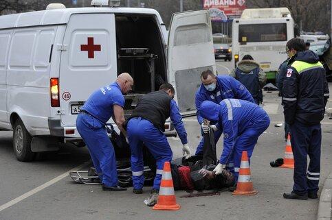 В столице России вДТП сучастием такси пострадали 4 человека