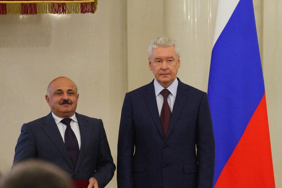 Руководитель РЖД наградил Собянина засоздание МЦК