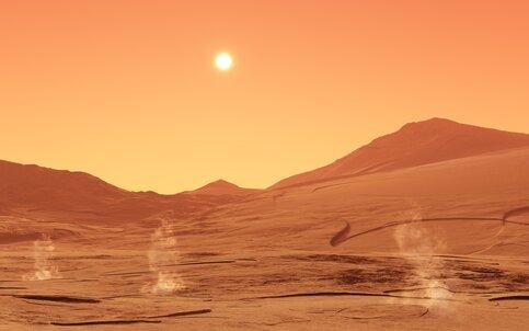Российские ученые решили отправить на Марс диктофон