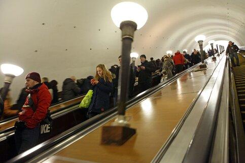 Количество платежеспособных пассажиров вмосковском метро возросло